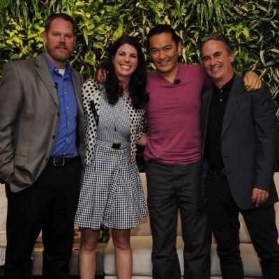 "Dr Andy Dehart, Dr Rachel Silverstein, Bun Lai, & Dr. Eldredge ""Biff"" Bermingham1"
