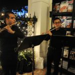 Frost School of Music Performing at Science Up Close series event at Books and Books in Coral Gables.