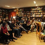Woman Speaking at Books and Books