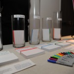 A more advanced design of the gratitude activity, prototyped at the museum's Young Patron's event in March