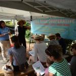 Jessica Zarate & Muriel Olivares Speaking at the gardening workshop.