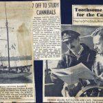 Original newspaper clippings