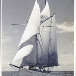 Original photos of Chiva sailing towards Dutch New Guinea.