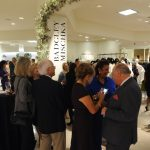 special guests mingling at the Badgley Mischka Event