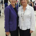 Two older women at the Badgley Mischka Event