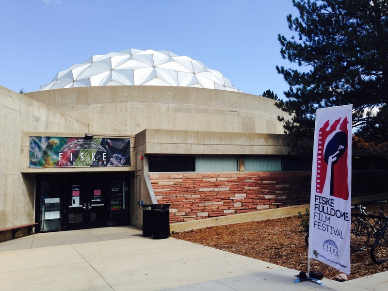 The first Fiske Fulldome Film Festival in Boulder, CO