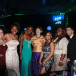 Students from the Museum's Upward Bound Program at a gala
