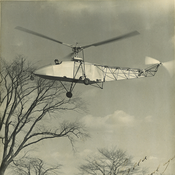 Historic Helicopter