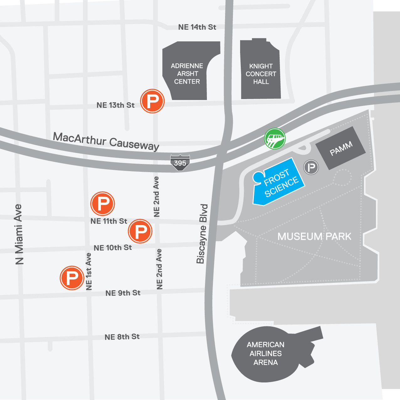 Additional Parking Map