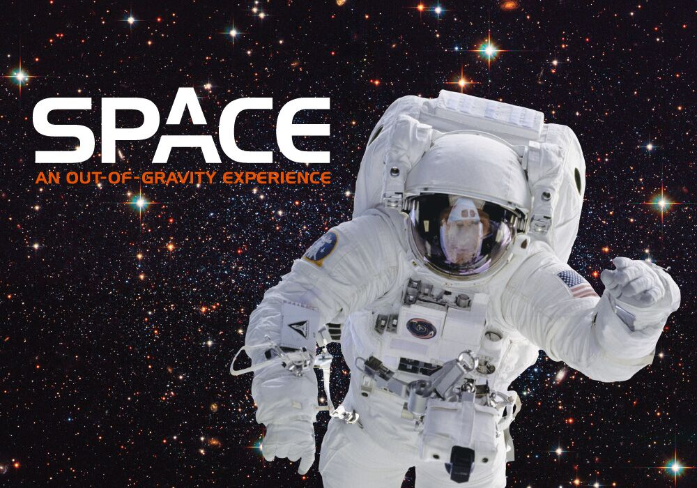 Space An Out of Gravity Experience flyer