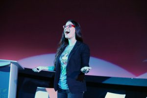 Cara Santa Maria at LIVE @ Frost Science