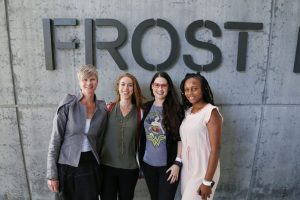 Dr. Lisa Beal, Dr. Elizabeth Reynolds Losin, Cara Santa Maria, & Kilan Ashad-Bishop at LIVE @ Frost Science