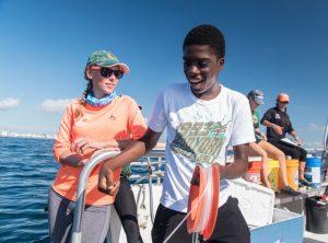 Catch Shark: Upward Bound Students 9