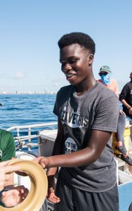 Catch Shark: Upward Bound Students 8