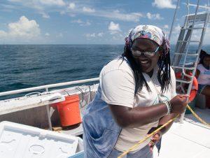 Catch Shark: Upward Bound Students 7