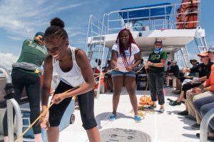 Catch Shark: Upward Bound Students 6