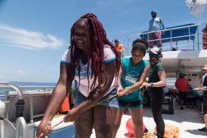 Catch Shark: Upward Bound Students 5