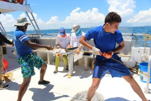 Catch Shark: Upward Bound Students 1