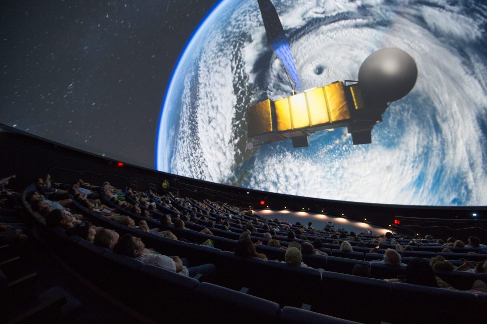 satellite planetarium show
