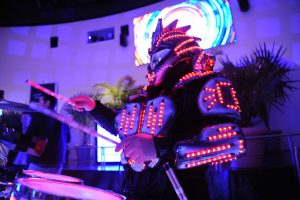 Frost Science Big Bang Robot Drummer photo credit WRE
