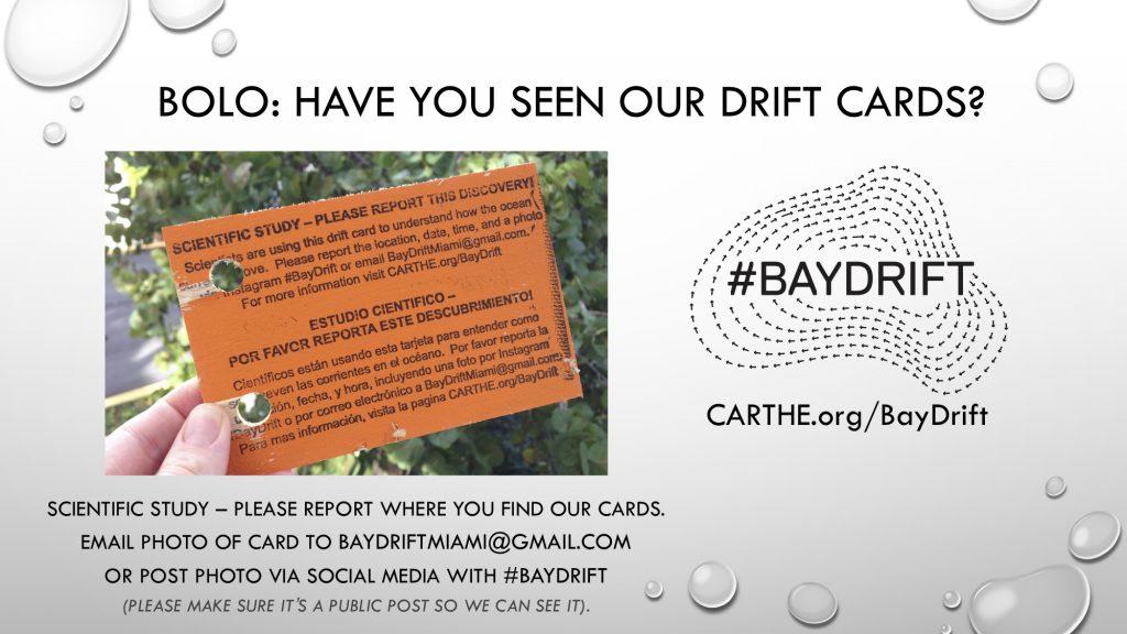 Baydrift bolo flyer