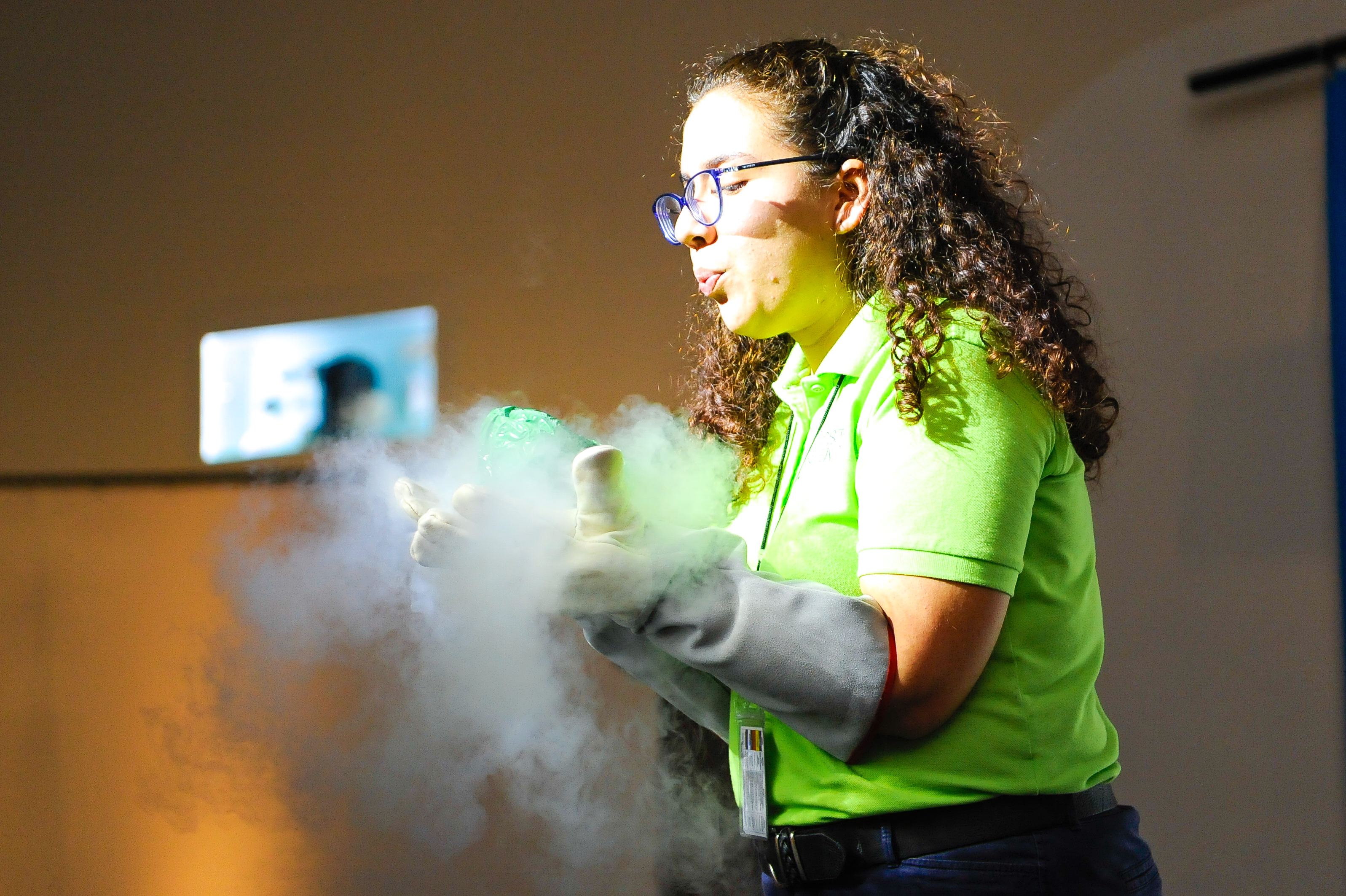 PHOTO MIAMI, FL - February 09: Frost Science Overnight Adventure on February 09, 2018 in Miami, Florida. (Photo by Sergi Alexander / Eyeworks Production).