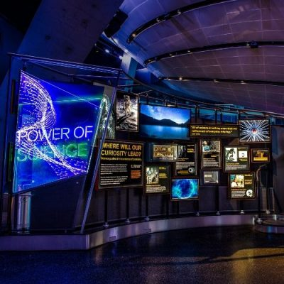 image of exhibition in science museum
