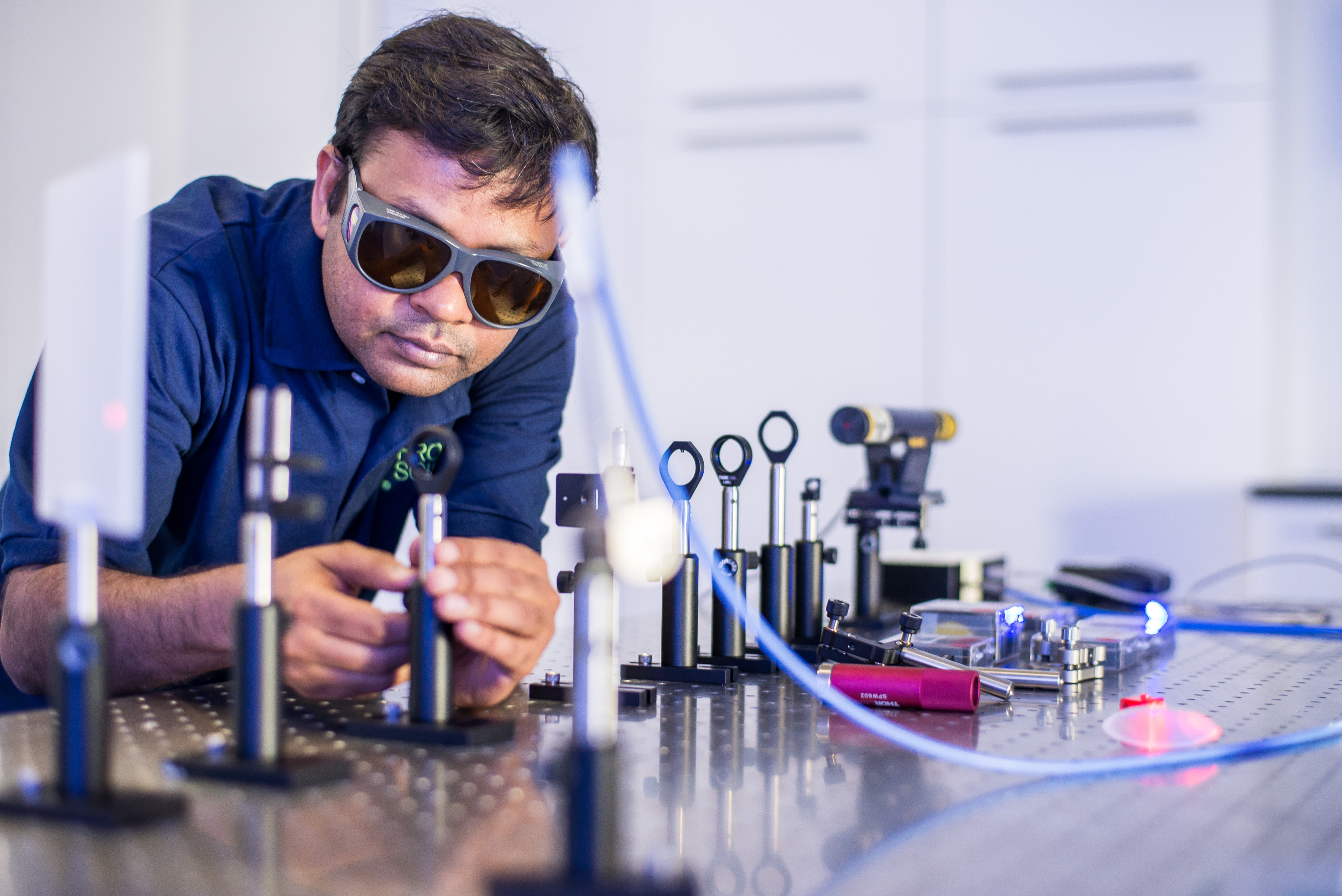 He is developing a carcinogen detector using a method known as laser-induced breakdown spectroscopy, visit him at the Inventors in Residence Lab