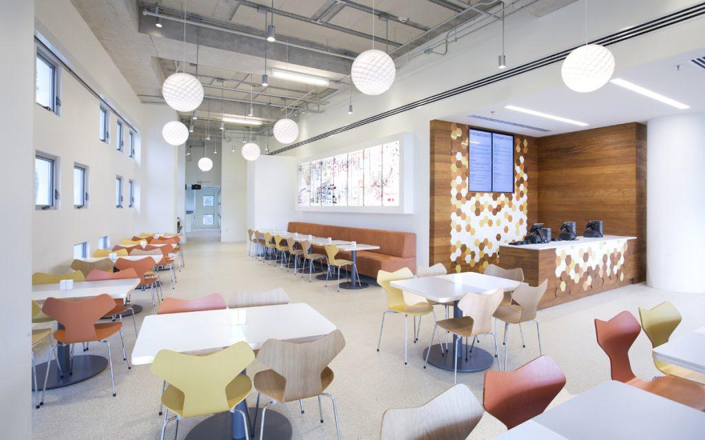 Frost Science Café indoor dining area